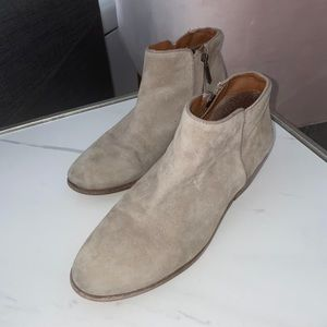 Sam Edelman Grey Suede Booties!